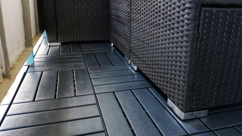 podłoga na balkon płyta podłogowa z tworzywa sztucznego